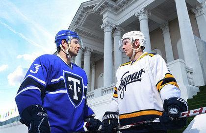 Тренер во время хоккейного матча увел всю команду со льда из-за решения арбитра