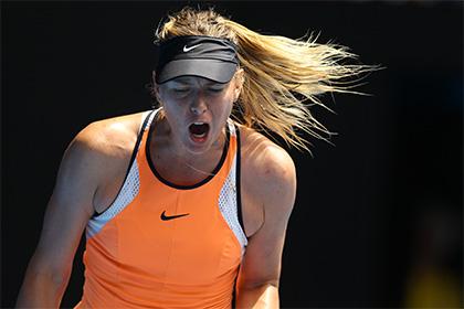 Шарапова опустилась на шестое место в рейтинге WTA после поражения от Уильямс