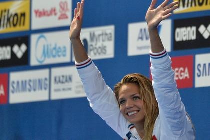 Чемпионка мира по плаванию Юлия Ефимова попалась на мельдонии