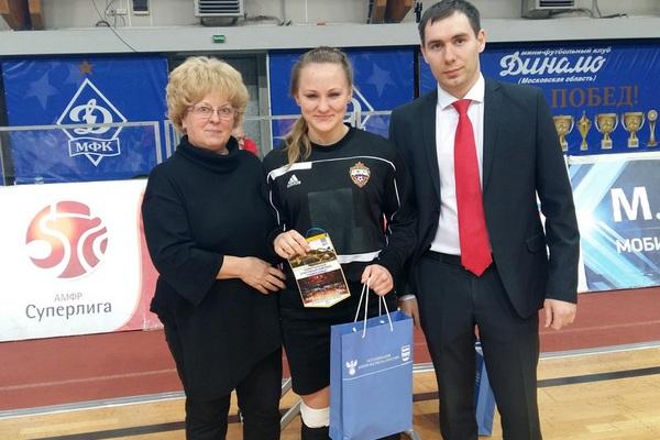 Смоленские школьницы привезли «бронзу» с соревнований ЦФО по мини-футболу
