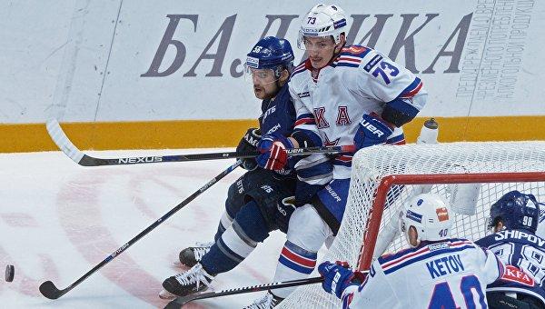 Хоккеисты «Динамо» переиграли СКА со счетом 4:3