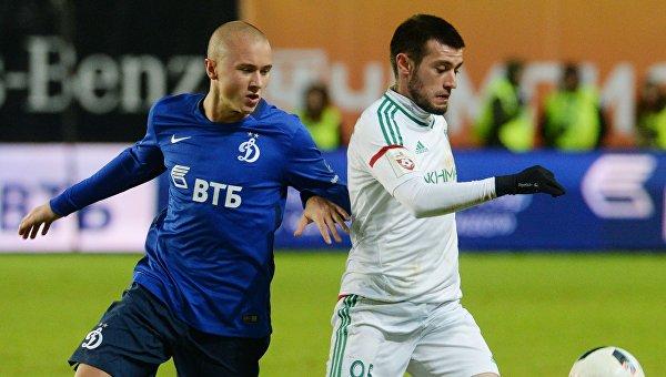 «Терек» обыграл «Динамо» в выездном матче 20-го тура ЧР по футболу