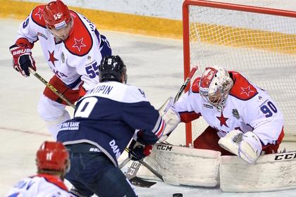 ЦСКА выиграл в Магнитогорске и сравнял счет в финальной серии Кубка Гагарина