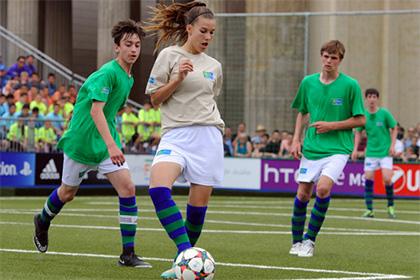 Программа «Футбол для дружбы» стала обладателем международной премии