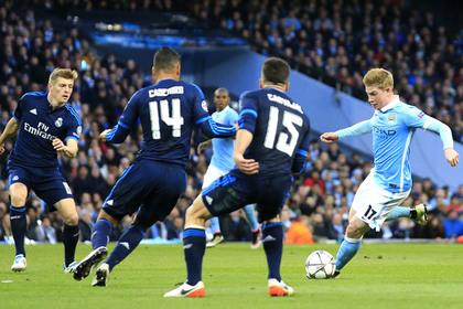 «Реал» и «Манчестер Сити» сыграли вничью в первом полуфинале Лиги чемпионов