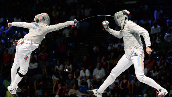 Российские саблисты завоевали золото командного чемпионата мира