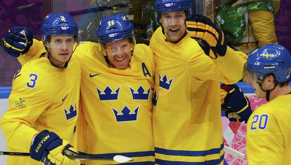 Сборная Швеции по хоккею выиграла общий зачет Евротура