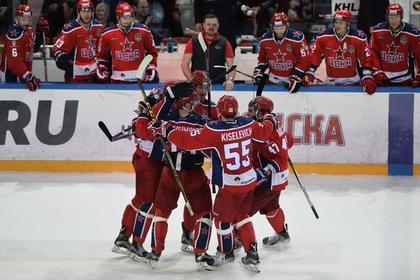 ЦСКА разгромил магнитогорский «Металлург» в финале Кубка Гагарина