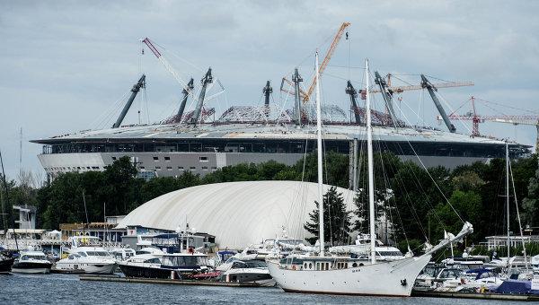 Мутко: строительство арены в Петербурге отстает от графика на 3 месяца