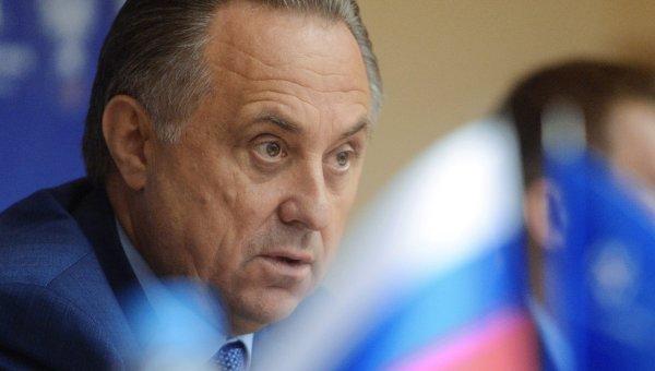 Мутко: ФИФА и УЕФА не меняют позиций в отношении футболистов Крыма
