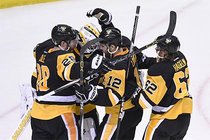 «Питтсбург Пингвинс» в первом матче финала Кубка Стэнли обыграл «Сан-Хосе Шаркс»