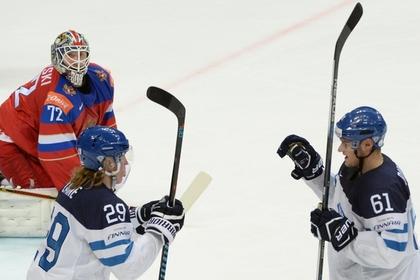 Сборная России по хоккею проиграла Финляндии в полуфинале домашнего ЧМ