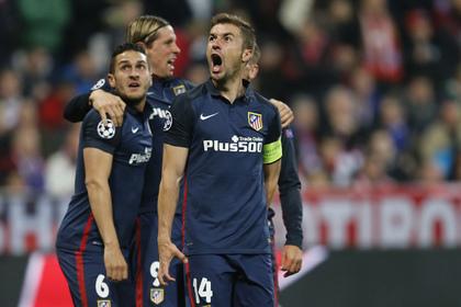 Мадридский «Атлетико» стал первым финалистом Лиги чемпионов