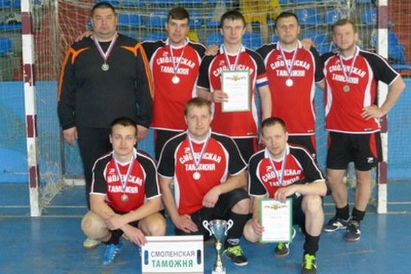 Смоленские таможенники взяли «серебро» чемпионата ЦФО по мини-футболу