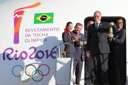 В Бразилии стартовала эстафета олимпийского огня