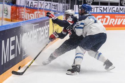 Американцы уступили финнам на ЧМ по хоккею