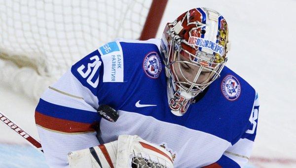 Сборная России по хоккею дозаявит на ЧМ-2016 вратаря Шестеркина