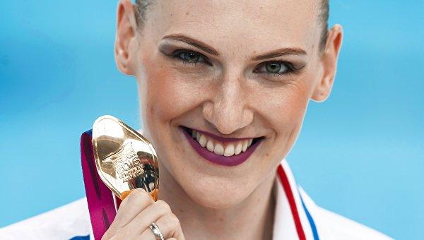 Синхронистка Ромашина выиграла золото в технической программе на ЧЕ