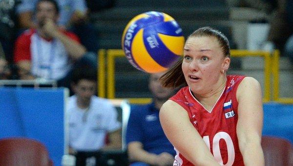 Российские волейболистки победили таек и вышли в полуфинал «Финала шести»