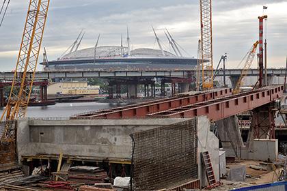 Строительство «Зенит-Арены» приостановлено