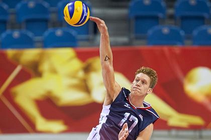 Волейболист сборной США попался на мельдонии