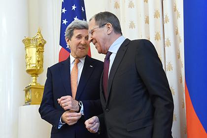 Лавров пожаловался Керри на антироссийские действия USADA