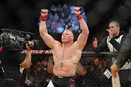 Бывший чемпион UFC Брок Леснар попался на допинге