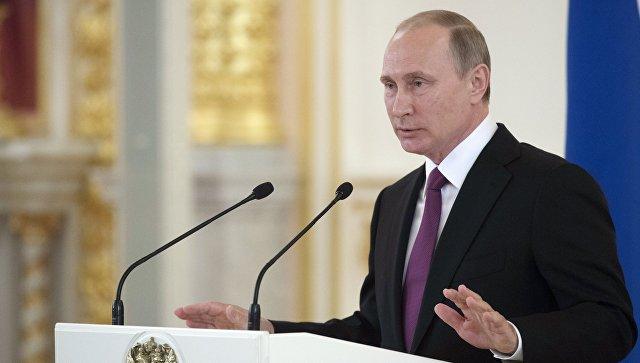 Путин поздравил сборную России с достойным выступлением на Олимпиаде в Рио