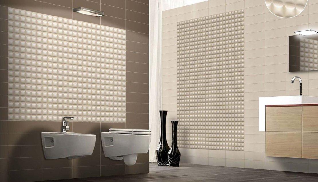 Креативное решение оформления интерьера: плитки apavisa и cobsa