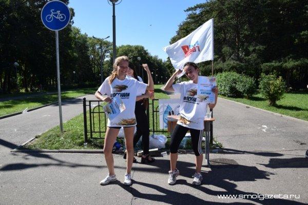 Смоленские студенты «погнали» в Реадовку