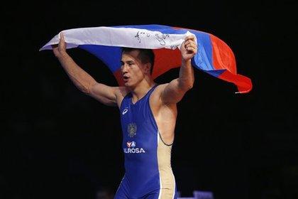 Российский борец Власов выиграл золотую медаль Игр в Рио