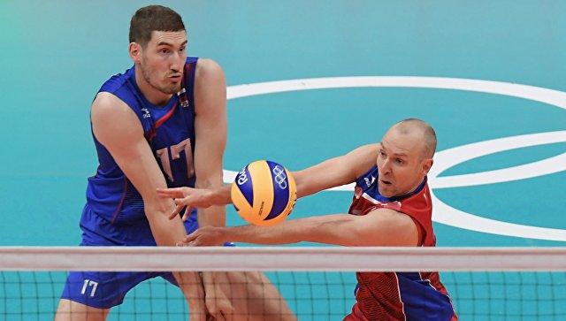Российские волейболисты в четвертьфинале ОИ-2016 сыграют с канадцами