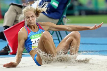 Прыгунья в длину Дарья Клишина вышла в финал Олимпиады