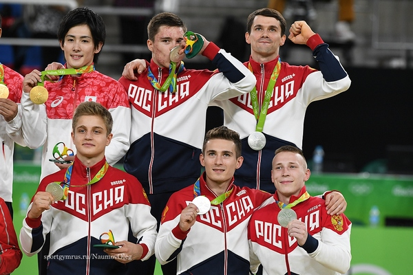 Гимнаст из Смоленска в составе сборной России занял второе место на Олимпиаде
