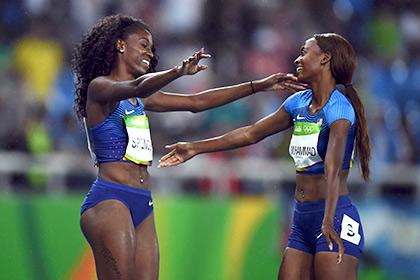Американки вышли в финал эстафеты в Рио после повторного забега
