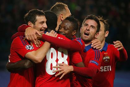 Футболисты ЦСКА получили золотые медали за победу в чемпионате России