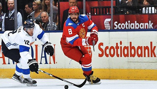 Сборная России по хоккею обыграла финнов и вышла в полуфинал Кубка мира