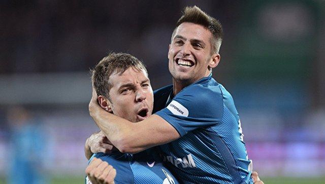 «Зенит» разгромил «Рубин» в матче чемпионата России