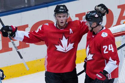 Канада обыграла сборную Европы в третьем туре Кубка мира по хоккею