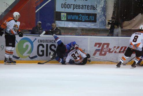 Смоленский «Славутич» потерпел третье поражение подряд