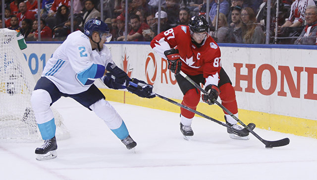 На пути к победе: Канада одолела сборную Европы на старте финала Кубка мира