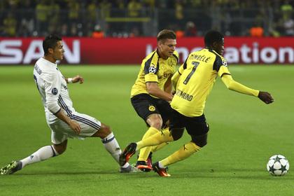 Дортмундская «Боруссия» ушла от поражения в матче Лиги чемпионов с «Реалом»