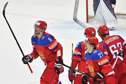 Сборная России по хоккею выбрала английский язык для слогана на Кубке мира