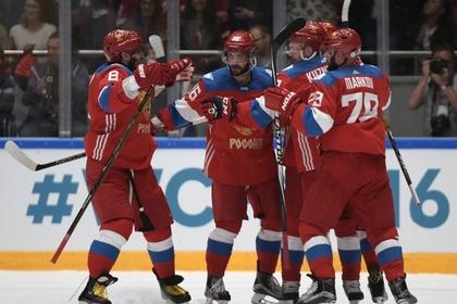 Сборная России по хоккею обыграла чехов в выставочном матче