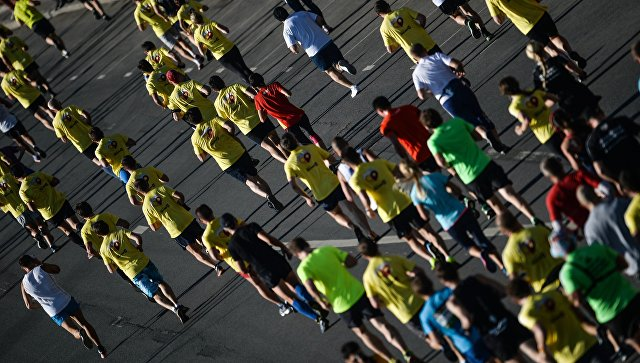 Московский марафон может стать самым массовым забегом в России