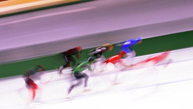 Определен состав сборной по конькобежному спорту на первые два этапа КМ