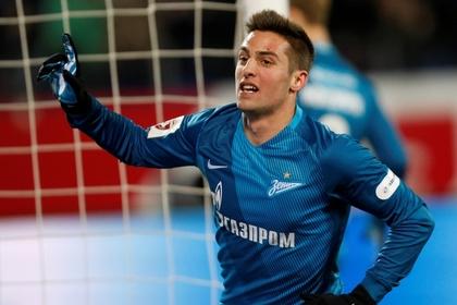 «Зенит» обыграл «Оренбург» в матче чемпионата России по футболу