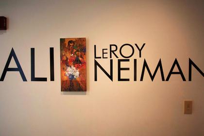 Из музея Мохаммеда Али похитили картину с изображением боксера
