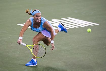 Кузнецова потерпела поражение на итоговом турнире WTA
