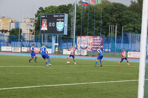 Смоленские футболисты сыграют на выезде с псковичами